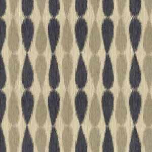 GWF-2927-511 IKAT DROPS Midnight Groundworks Fabric