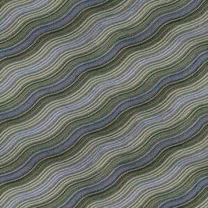 GWF-3100-313 WATER STRIPE EMB Juniper Lake Groundworks Fabric