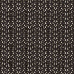 GWF-3320-816 CHENGTUDOOR EMB Black Linen Groundworks Fabric