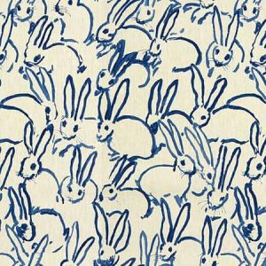 GWF-3523-50 HUTCH PRINT Navy Groundworks Fabric