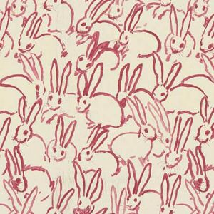 GWF-3523-7 HUTCH PRINT Pink Groundworks Fabric