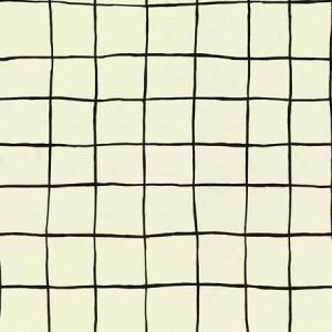 GWF-3532-18 COQUETTE Alabaster Blk Groundworks Fabric