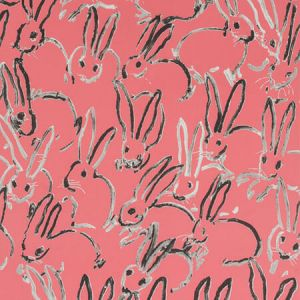 GWP-3413-17 HUTCH Pink Groundworks Wallpaper