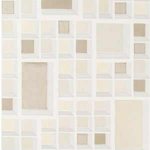 GWP-3700-116 RARITY PAPER Almond Ivory Groundworks Wallpaper