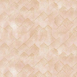 GWP-3703-174 BRINK PAPER Blush Gold Groundworks Wallpaper