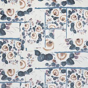 H0 00043469 BABOUCHKA Bleu Scalamandre Fabric