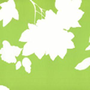 306186W HAPPY GARDEN BACKGROUND Jungle Green On White Quadrille Wallpaper
