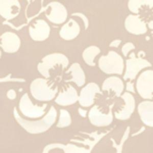 3015-01AWP HAWTHORNE REVERSE New Beige On Almost White Quadrille Wallpaper