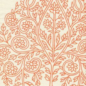 HC1480P-06WP TAJ Melon On Off White Quadrille Wallpaper