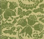 HC1300T-04 ARIEL Apple on Tan Quadrille Fabric