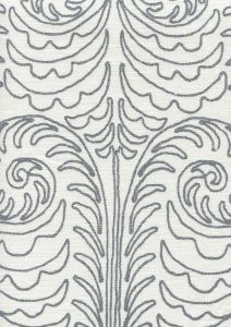 HC1230W-12 GYPSY DANCE Silver Streak on Off White Quadrille Fabric