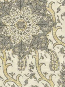 HC1970C-01 KASHMIR EXOTIQUE Grays  Quadrille Fabric