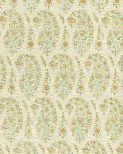 HC1960C-00 KASHMIR PAISLEY PETITE Celadon  Quadrille Fabric