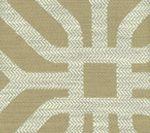 HC1520-03 LABYRINTH Beige Quadrille Fabric
