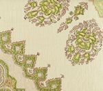 HC1490V-02 PERSEPOLIS Fig Cream on Velvet Quadrille Fabric