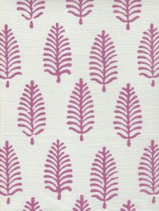 HC1940-05W PINEWOOD Lavender on White Quadrille Fabric