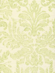 302883F-CU SEVILLA DAMASK Apple on Tint Quadrille Fabric