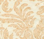 302881F-CU SEVILLA DAMASK Orange on Tint Quadrille Fabric