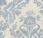 302314F-CU VICTORIA China Blue on Tint Quadrille Fabric