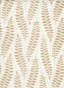 HC1860-01 WOODLAND Beige on Tint Quadrille Fabric