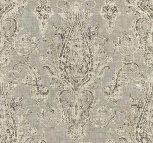 MILLARD PAISLEY Ash Fabricut Fabric