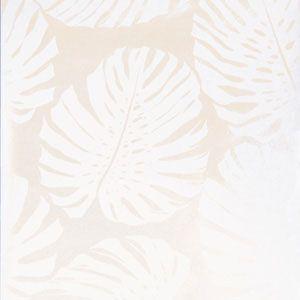 50090W MONSTERA Frost 01 Fabricut Wallpaper