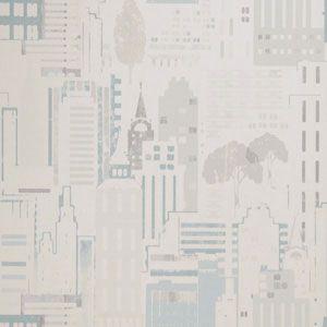 50065W ESPLANADE Seamist 01 Fabricut Wallpaper