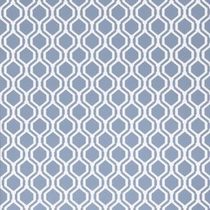 50078W KEYS GEO Navy 04 Fabricut Wallpaper