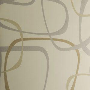 50205W RIKKE Almond 01 Fabricut Wallpaper