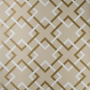 50174W CARREFOURS Sand 03 Fabricut Wallpaper