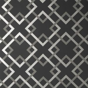 50174W CARREFOURS Midnight 06 Fabricut Wallpaper