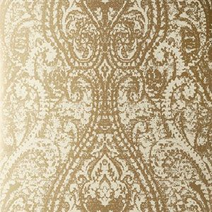 50172W CACHEMIRE Gold 05 Fabricut Wallpaper
