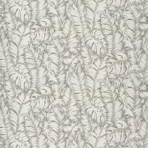 KINLEY LEAVES Dove Fabricut Fabric