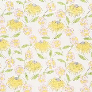 177851 BOUQUET TOSS Pink Lemonade Schumacher Fabric