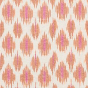 178061 PRESIDIO IKAT Orange Schumacher Fabric