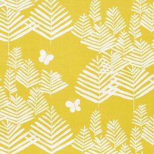 178231 FERN SILHOUETTE Yellow Schumacher Fabric