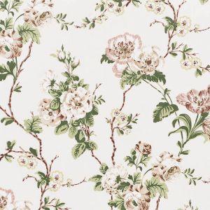 178400 BETTY CHINTZ Quiet Pink Schumacher Fabric