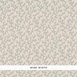 5008004 FOLLY Orpington Blue Schumacher Wallpaper