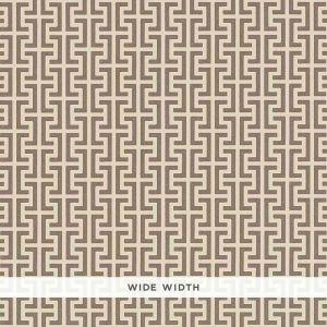 5008056 TEMPLE Berber Brown Schumacher Wallpaper