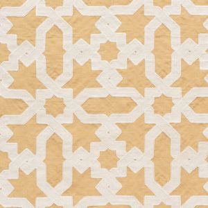 67575 CORDOBA EMBROIDERY Ochre Schumacher Fabric