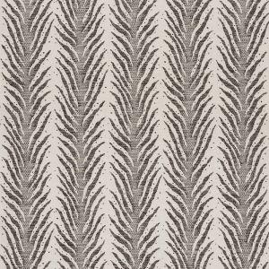 75451 CREEPING FERN Basalt Schumacher Fabric
