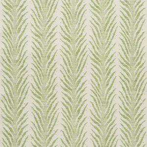 75452 CREEPING FERN Moss Schumacher Fabric