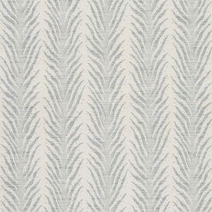 75453 CREEPING FERN Slumber Blue Schumacher Fabric