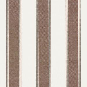 75822 RAFE STRIPE Berber Brown Schumacher Fabric