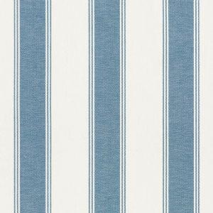 75823 RAFE STRIPE Marine Schumacher Fabric