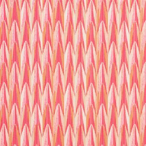 75911 VERDANT Pink Orange Schumacher Fabric