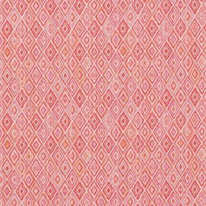 75922 DIAMOND STRIE Pink Orange Schumacher Fabric