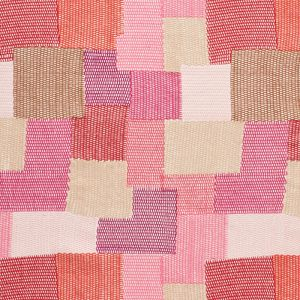 76181 CARNABY Pink Red Schumacher Fabric