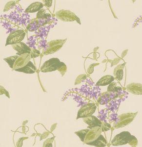 100/12056-CS MADRAS VIOLET Olive Lavender Cole & Son Wallpaper