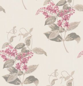 100/12058-CS MADRAS VIOLET Pink Cole & Son Wallpaper